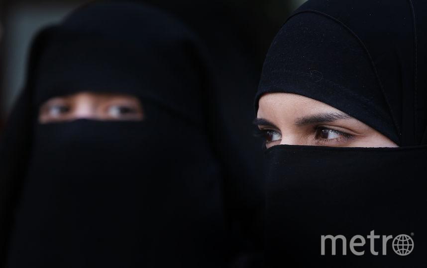 Женщины в никабах. Фото Getty