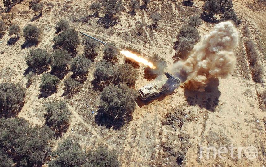 """Так выглядит запуск ракеты с воздуха. Фото Александр Пушин, предоставлено пресс-службой Сада """"Эрмитаж"""""""
