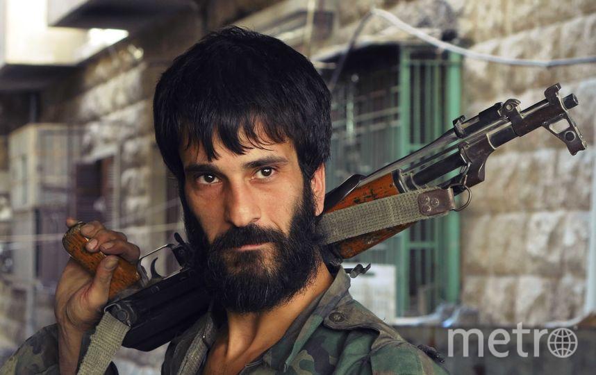 """Сирийское сопротивление. Фото Александр Пушин, предоставлено пресс-службой Сада """"Эрмитаж"""""""