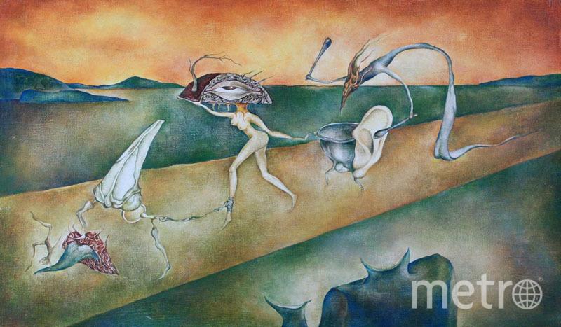 """Картина Эдмунда Шклярского. Фото официальный сайт группы """"Пикник"""""""