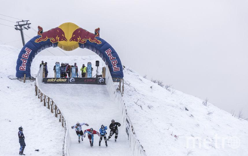 Трек построили специально к соревнованиям. Фото предоставлено Red Bull
