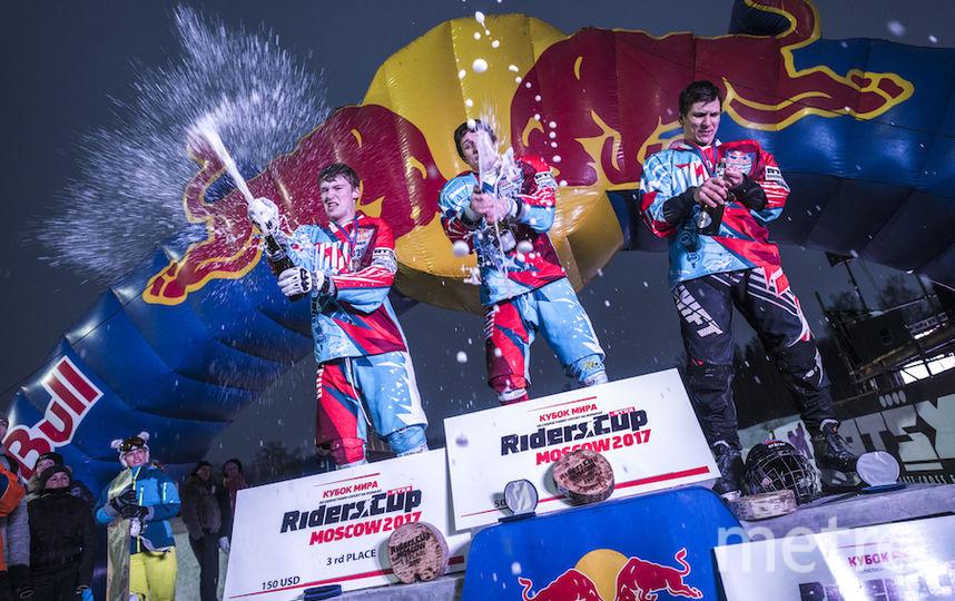 Три призовых места заняли россияне. Фото предоставлено Red Bull
