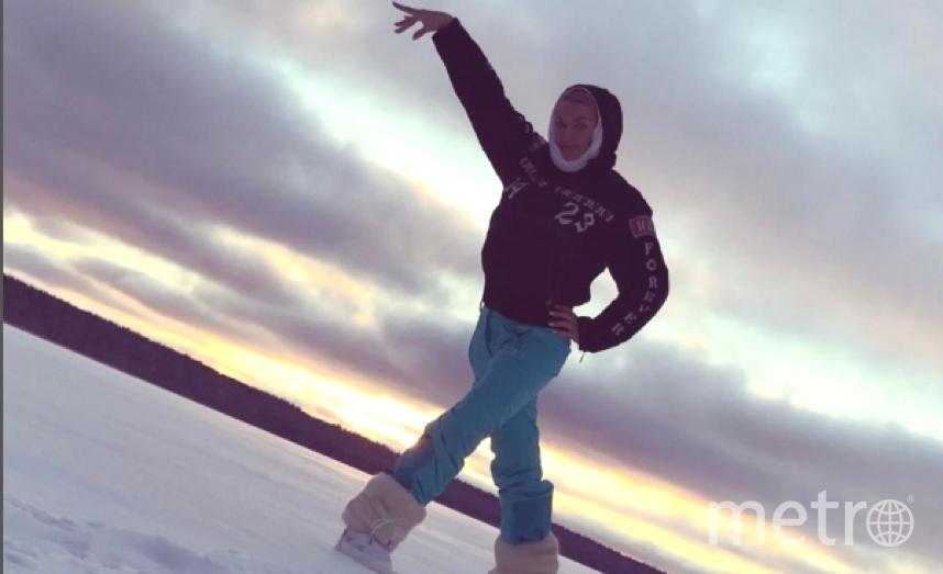 Анастасия Волочкова отправилась отдыхать в Приозерский район Ленобласти.