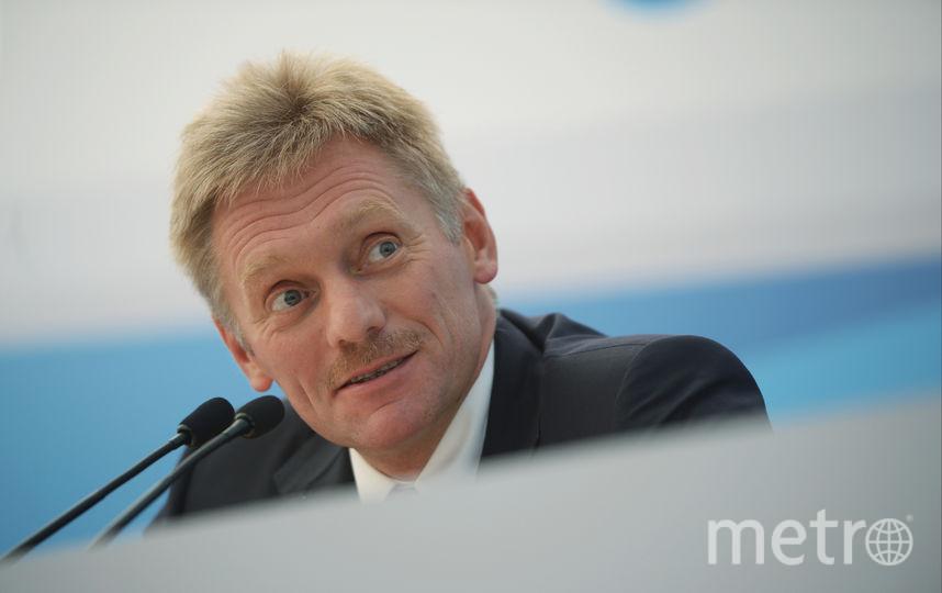 Пресс-секретарь президента РФ Дмитрий Песков. Фото Getty