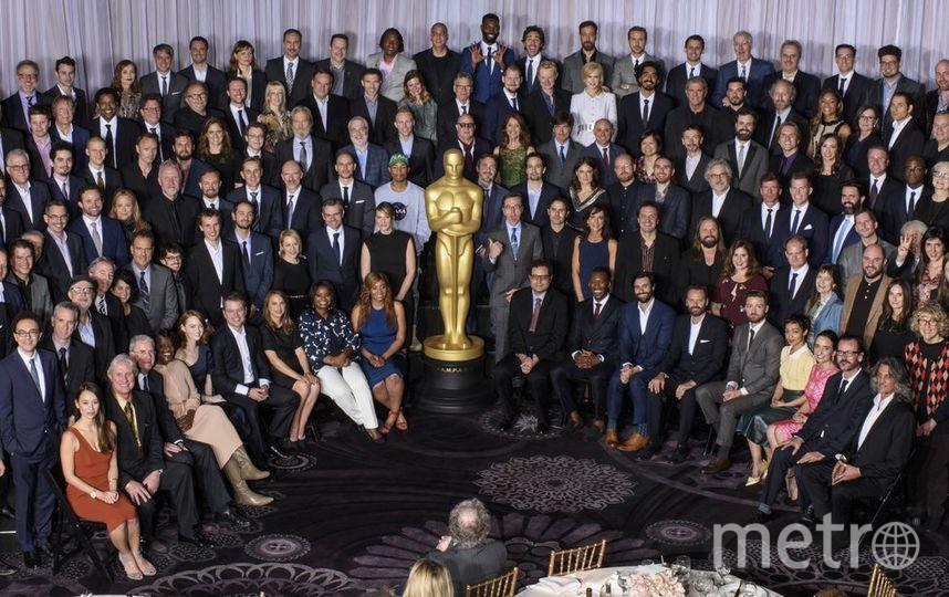 """Совместное фото номинантов на """"Оскар-2017"""". Фото oscar.go.com"""