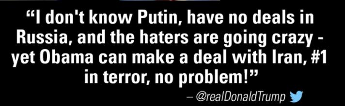 Твит Дональда Трампа. Фото Личный Twitter Дональда Трампа.