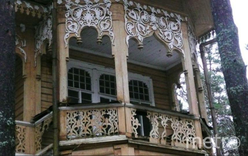 В Ленобласти продается дача-объект культурного наследния. Фото Скриншот realty.yandex.ru