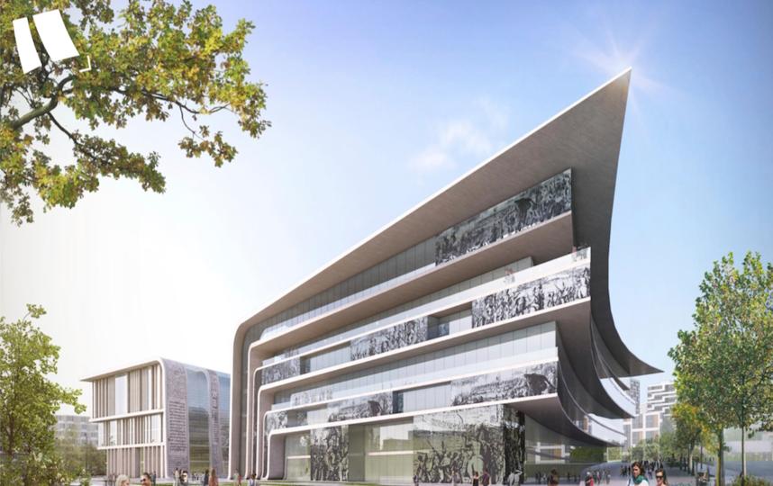 Депозитарий будет семиэтажным, площадью 120 тысяч квадратных метров. Фото ФОТО: Государственный исторический музей