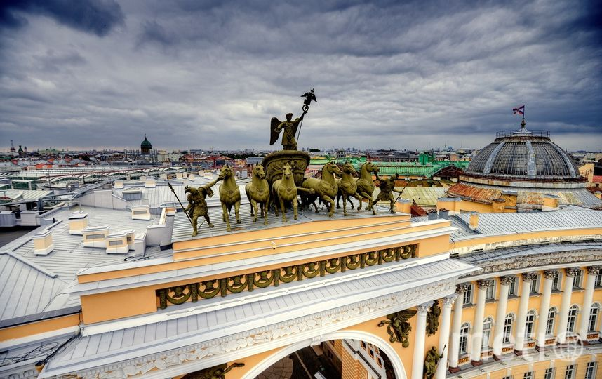Кадры Петербурга были сделаны на рассвете и закате. Фото Предоставлены киностудией «Два капитана»