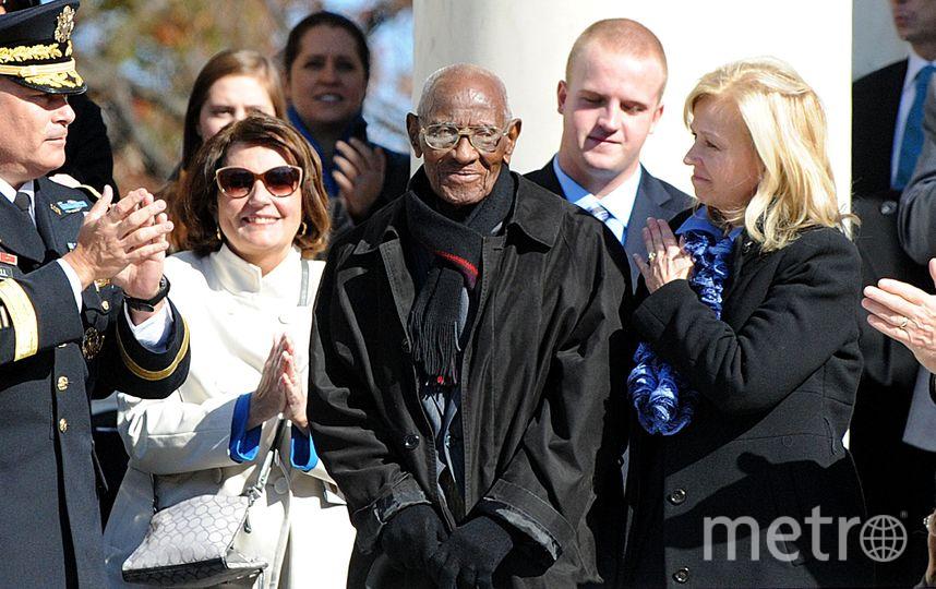 Ричард Овертон после встречи с бывшим президентом США Бараком Обамой. Фото Getty