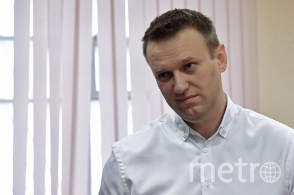 Алексей Навальный на суде. Фото РИА Новости