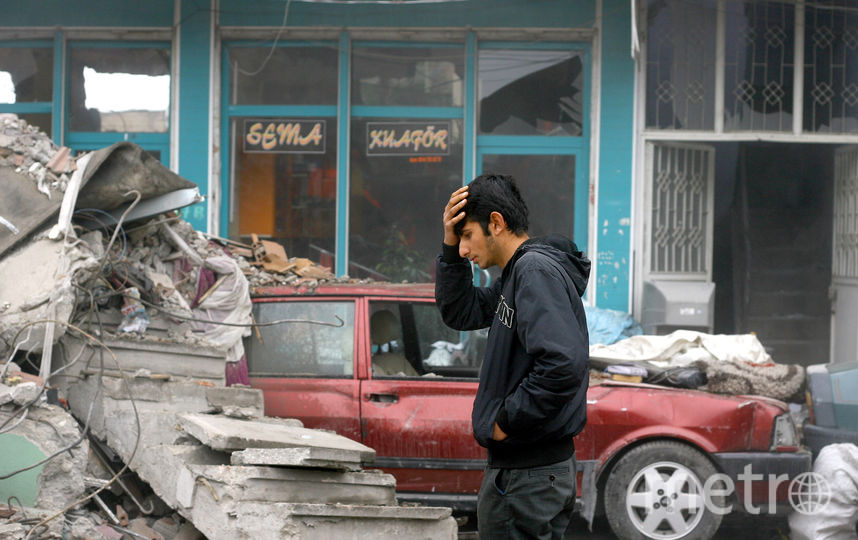 Землетрясение в Турции. Фото Getty