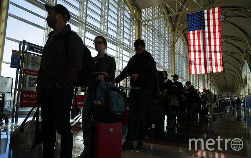 Американский аэропорт. Фото Getty