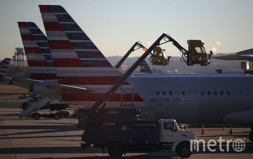 Самолеты в аэропорту США. Фото Getty