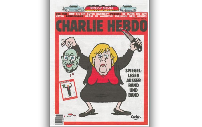 Обложка немецкой версии журнала Charlie Hebdo. Фото twitter.com/MEEDIA