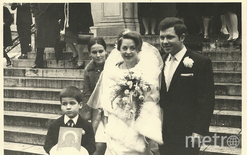 Фото свадьбы Александра и Марии, 1969 год. Фото предоставлено Александром Пушкиным.