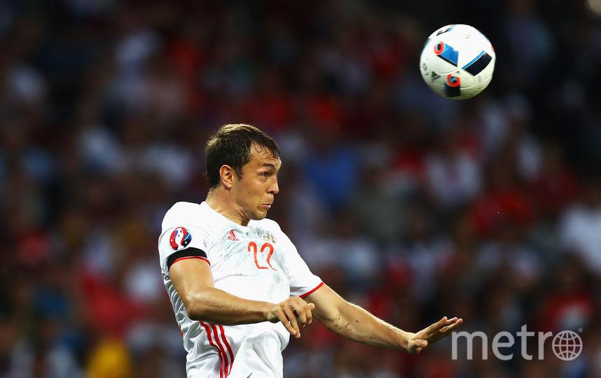 Нападающий сборной России Артём Дзюба. Фото Getty