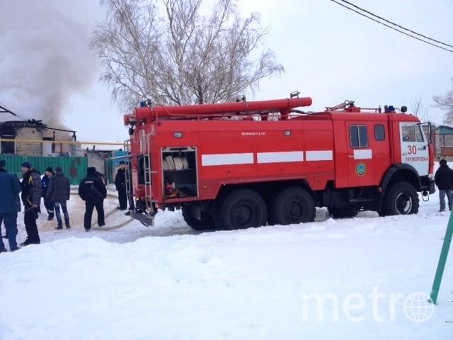 Фото с места событий. Фото ГУ МЧС по Белгородской области