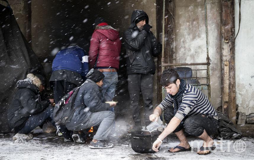 Мигранты в Европе. Фото Getty