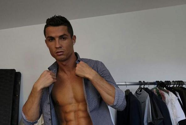 Футболист Криштиану Роналду. Фото www.instagram.com/cristiano