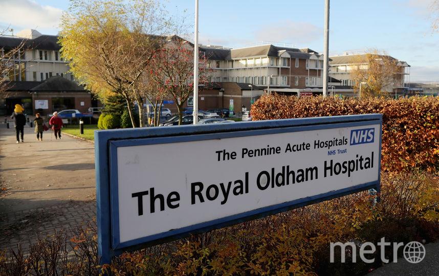 NHS hospital. Фото Getty