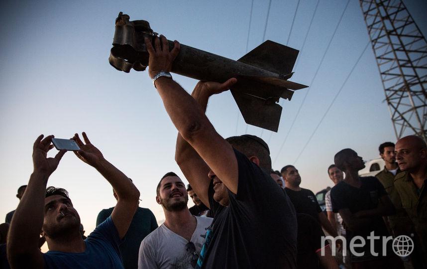 Неразорвавшийся снаряд. Фото Getty