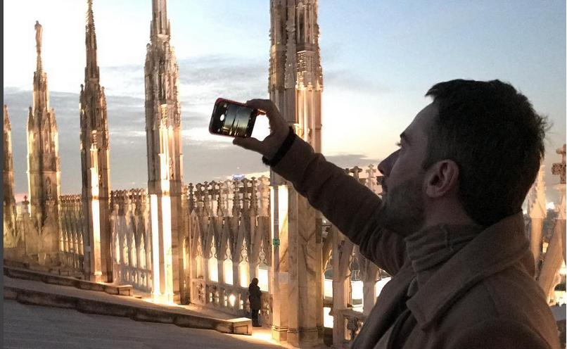 """Дмитрий Шепелев - новый ведущий программы"""" Прямой эфир"""". Фото Скриншот instagram.com."""