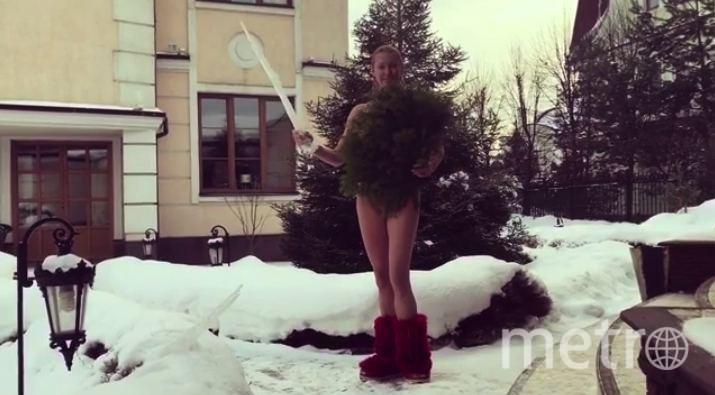 Волочкова показала в Сети провокационное видео с «магическим жезлом». Фото Скриншот/Instagram:volochkova_art