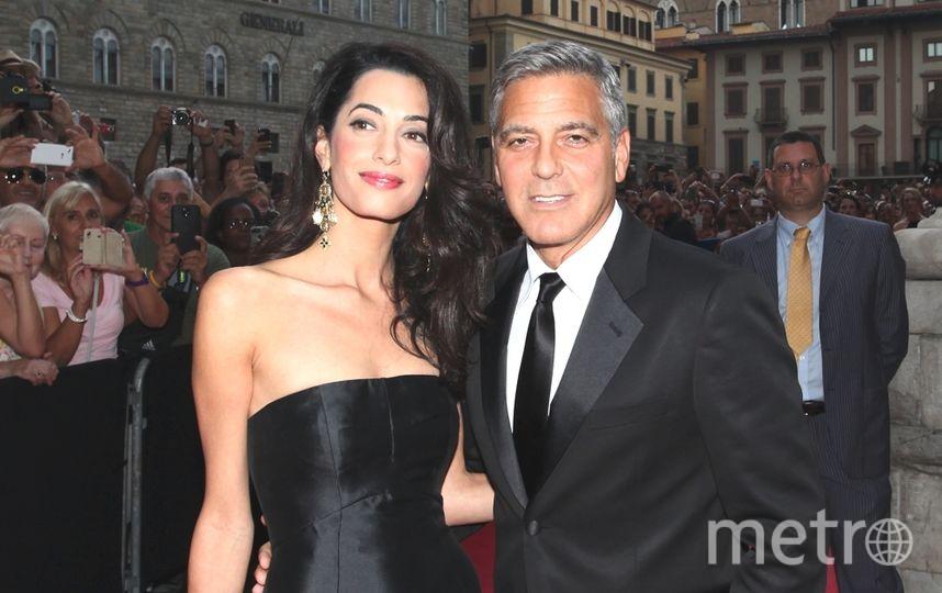 55-летний актер Джордж Клуни скоро станет отцом. Фото getty, Getty