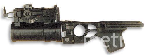 Подствольный гранатомет. Фото Википедия.