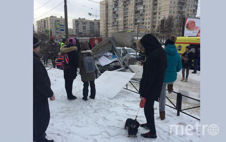 """""""ДТП и ЧП / Санкт-Петербург"""". Фото Андрей Смирнов, vk.com"""