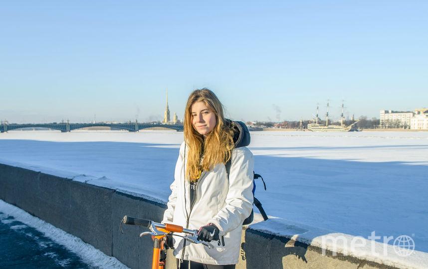 """""""На работу на велосипеде"""". Фото предоставлено Юлией Ерёменко"""