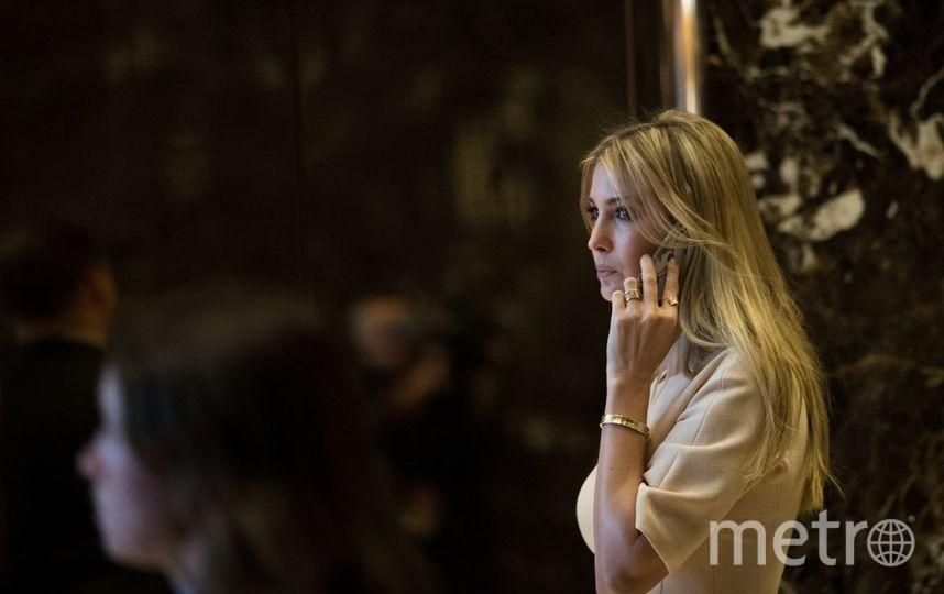 Трамп восхитился стойкостью своей дочери Иванки. Фото Getty