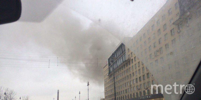 Пожар вресторане «Тимьян» в северной столице локализован