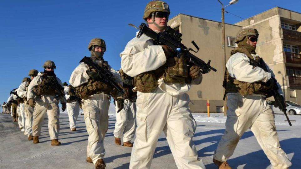 ВС США на учениях в Эстонии. Фото Официальная страница 173-ей воздушно-десантной бригады США в социальной сети Facebook.
