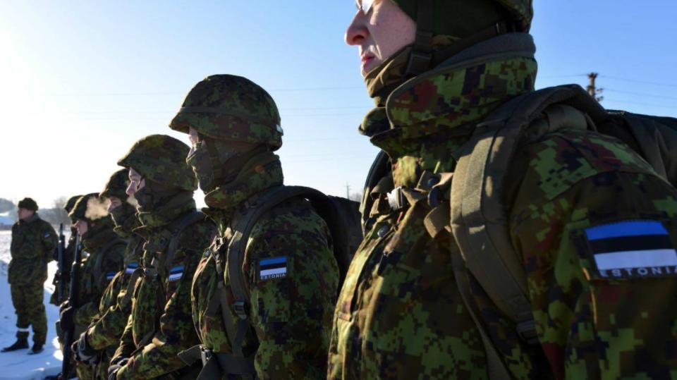 Скаутский батальон Сил Обороны Эстонии. Фото Официальная страница 173-ей воздушно-десантной бригады США в социальной сети Facebook.