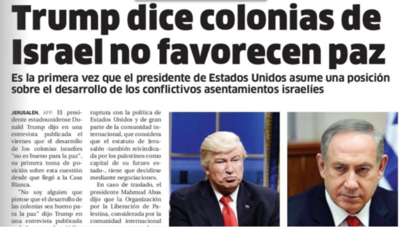 Газета El Nacional. Фото Twitter @SalHernandez.