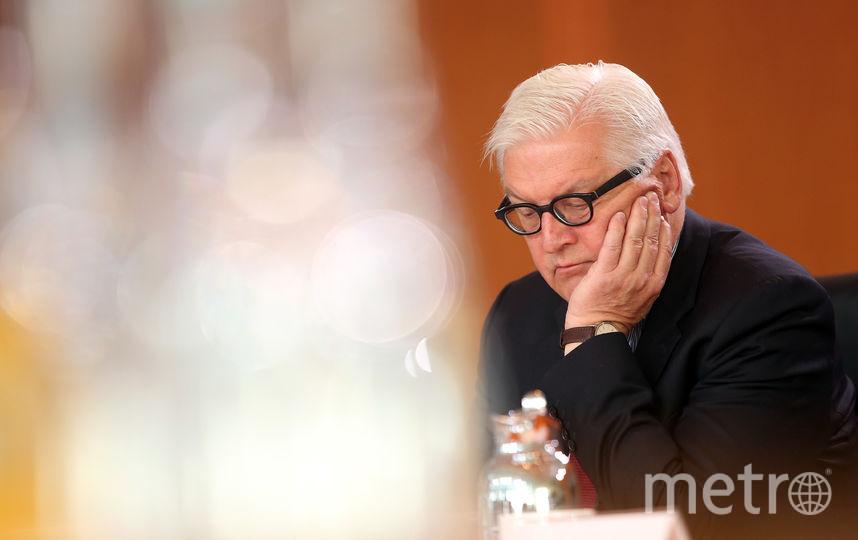Франк-Вальтер Штайнмайер. Фото Getty