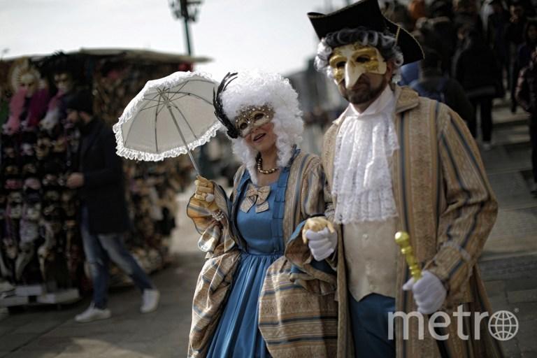 Венецианский карнавал. Фото Getty