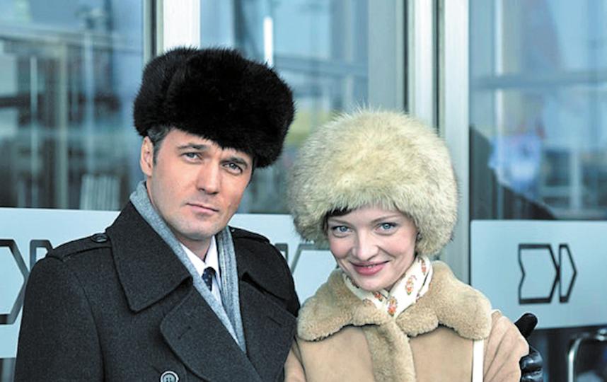 Компанию Екатерине Вилковой на съёмках составил актёр Павел Трубинер. Премьера сериала состоится на Первом канале, но дата пока неизвестна. Фото предоставлено кинокомпанией «Марс Медиа»