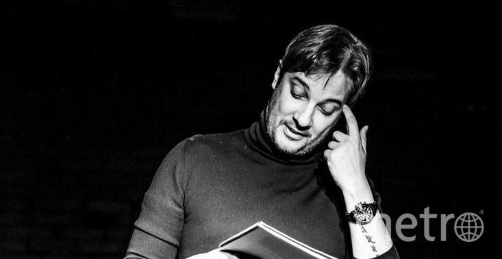 Александр Цыпкин прочитает свои рассказы перед зрителями в Петербурге.