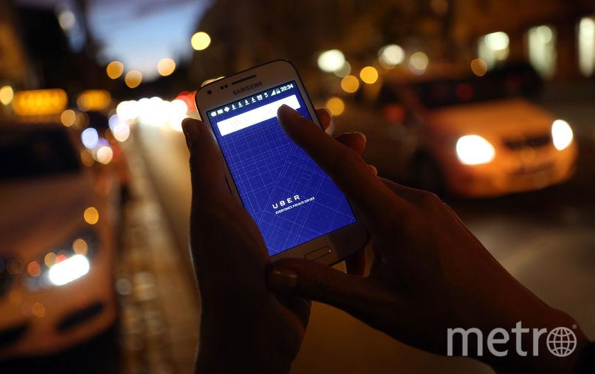 Приложение Uber. Фото Getty