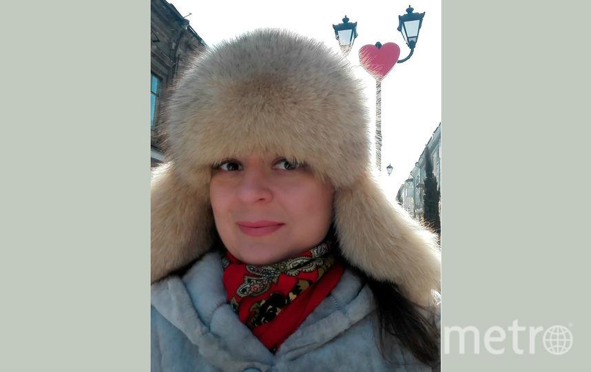Елена возле фонаря. Фото Елена Городенцева.