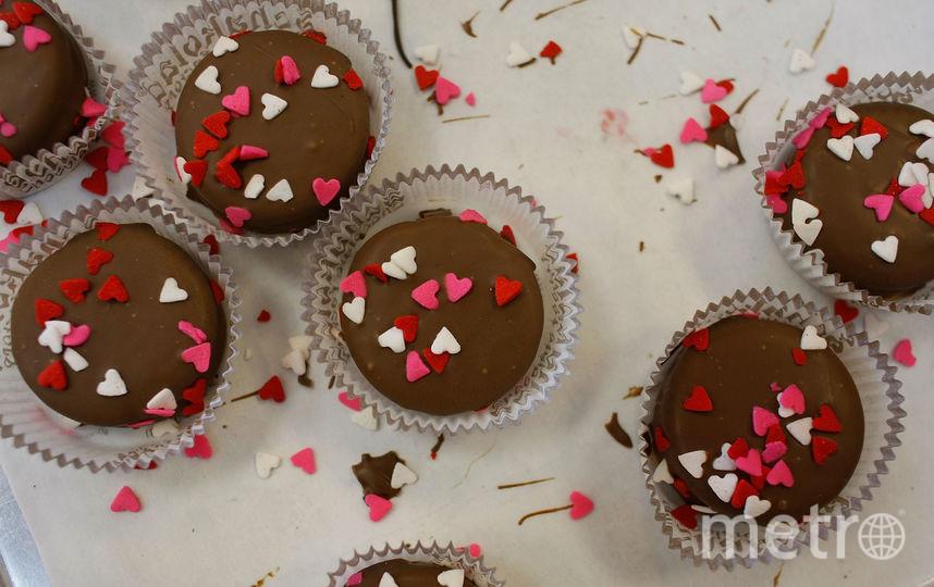 Сладости – самый популярный подарок на День святого Валентина. Фото Getty