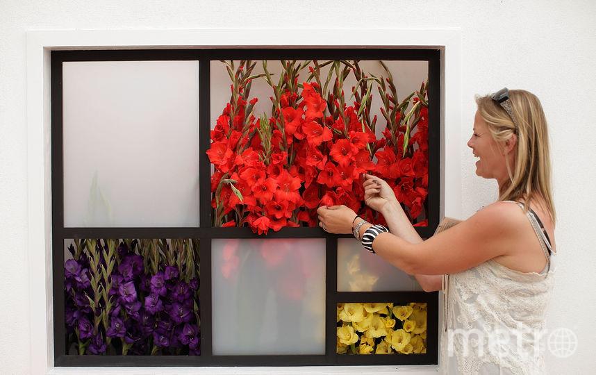 Цветы в России заменяют другими подарками. Фото Getty