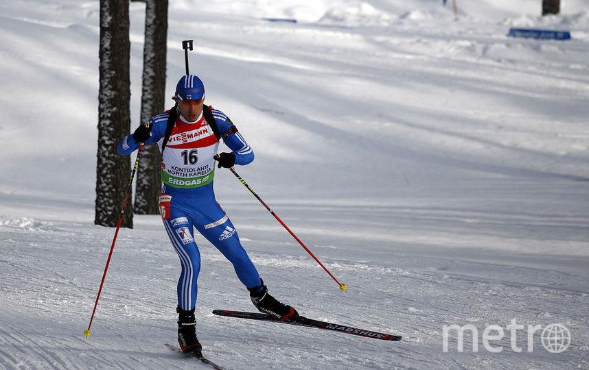 Биатлонист Антон Шипулин. Фото Wikipedia/Peter Porai-Koshits