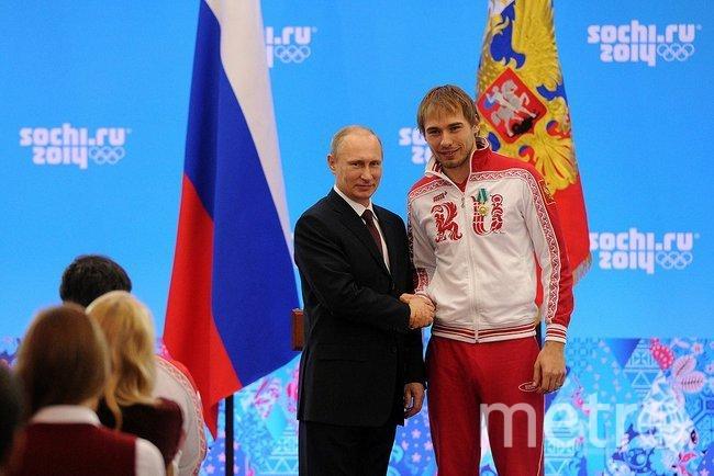 Владимир Путин и Антон Шипулин. 2014 год. Фото Wikipedia/kremlin.ru