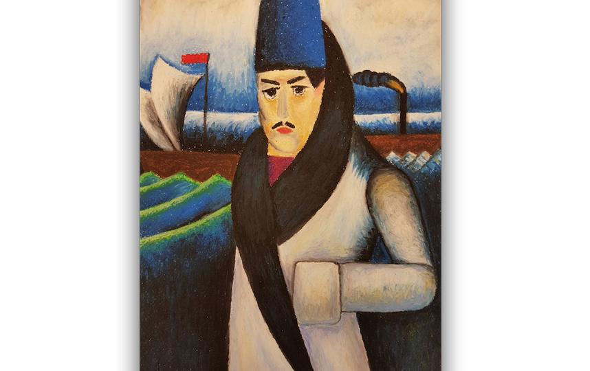 Илья Машков, Автопортрет, 1911. Фото Суетина Татьяна