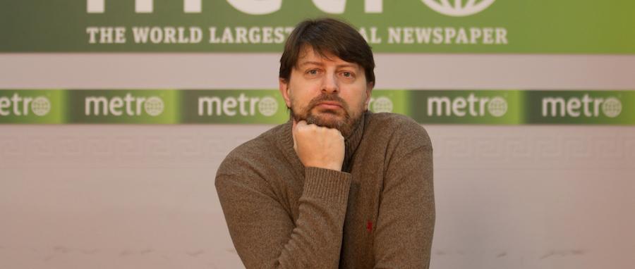 """Михаил Нешевец. Фото Василий Кузьмичёнок, """"Metro"""""""