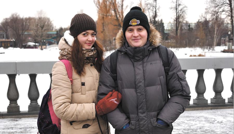 Николай и Екатерина. Фото Фото из личных архивов